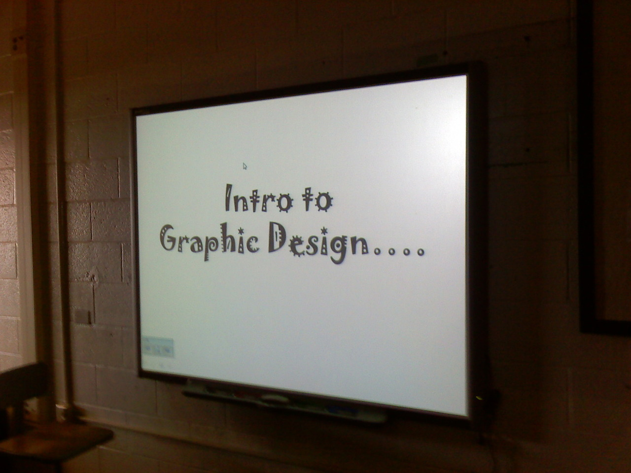 bbeeaarr:  Imagine of that was how you were taught graphic design… I'd cry
