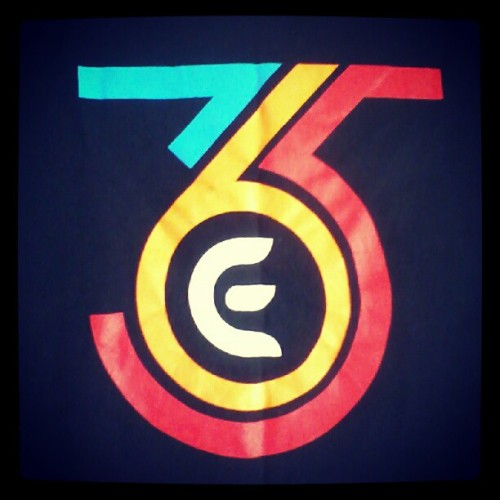 A design i did few years ago for 365 events company. This is on a Tshirt.  #365 (Taken with Instagram)