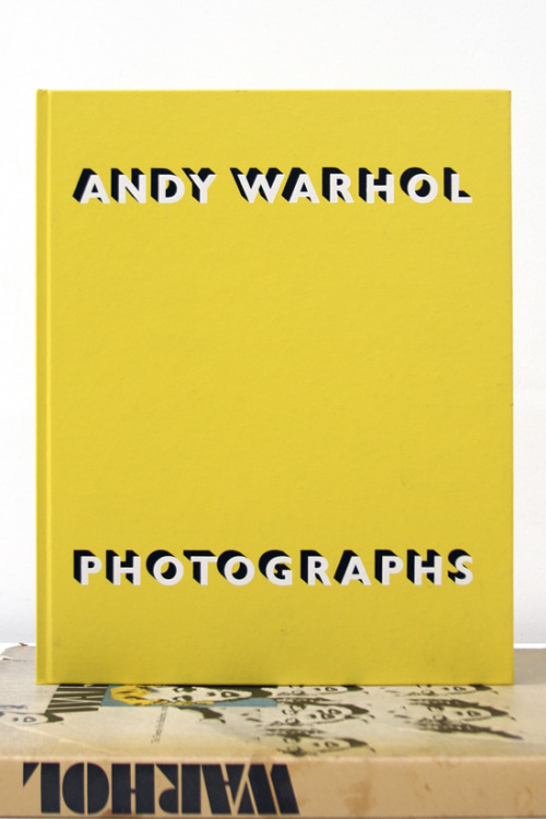 "Andy Warhol, Photographs ""His building; his style; his city.""  Robert Miller Gallery, New York, 1987 9¼ x 11½ inches (23½ x 29¼ cm) SOLD"