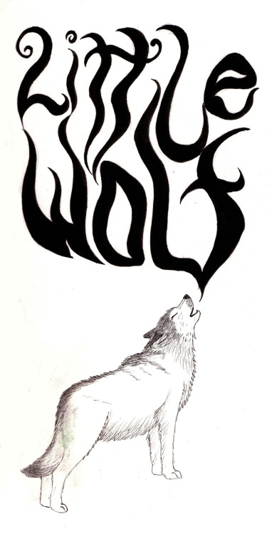 Type I created for Little Wolf clothing for The Clothes Maiden magazine :)