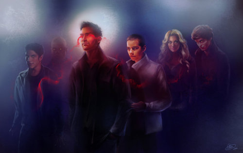 deeperdreaming:  Teen Wolf The bond… by *Syllirium