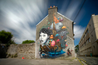 Liliwenn x Bom-KBrest, France 2012 - Crimes of Minds Project Photo by Kevin Perro http://www.liliwenn.com/