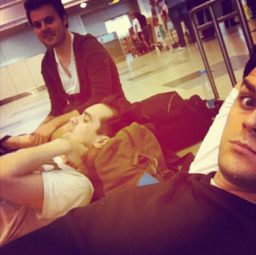 Moscow airport: Hour 15 (photo by @dallonjamesweekes) http://instagram.com/p/Ntc_4TxRXH/