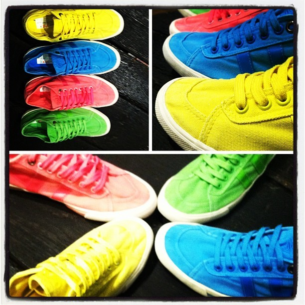 @golashoes #neon sneakers just hit our floors - which neon color would you rock? #shopping #fashion #shoes  (Taken with Instagram at Atrium NYC)