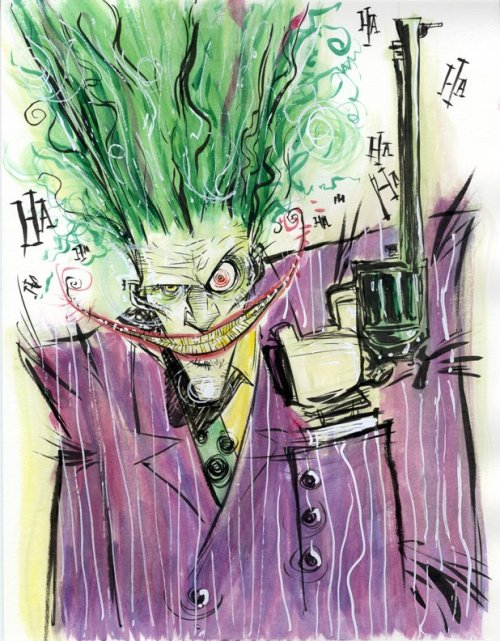 mtvgeek:  The Joker by Skottie Young