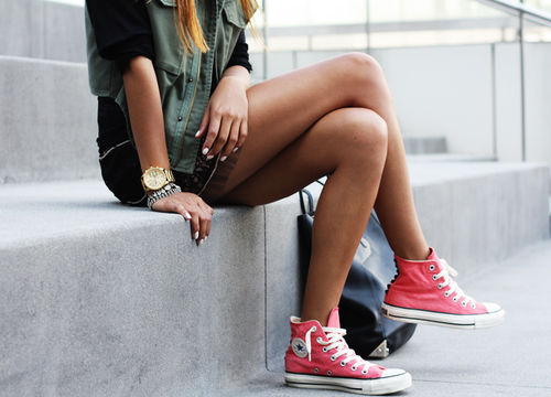 girl cute shoes style pink outfit outfits