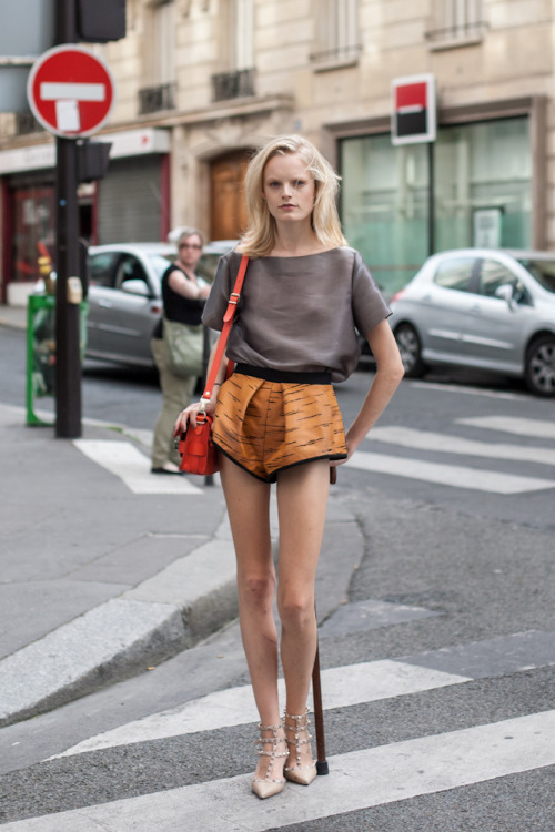 Hanne Gaby Odiele, I don't know why but you're just so damn cool!