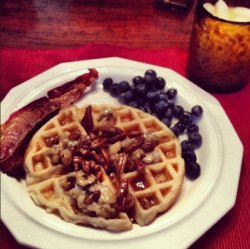 Bourbon breakfast with Belle Meade Bourbon! Thanks for sharing @chadcherry! http://chadcherry.squarespace.com/bloggin/bourbon-breakfast.html