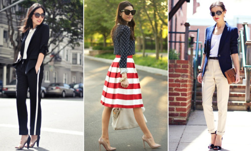 Today on Glamour.com: 5 chic Olympics-inspired outfit ideas.
