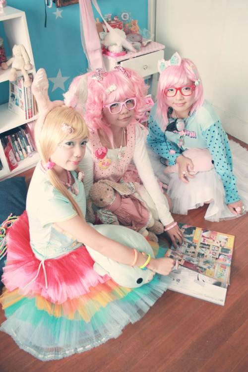 tokyofantasy:  Fairy Kei fashion - Japan