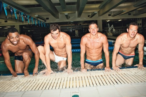 Swimmers are sexy;)
