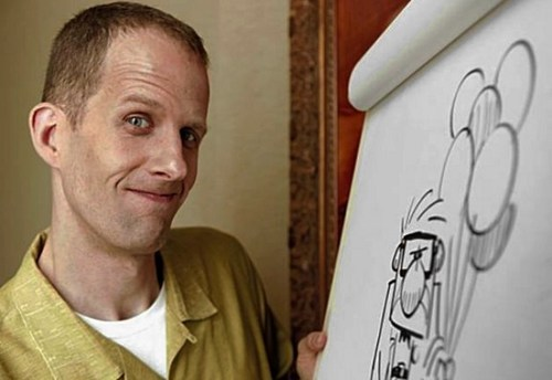 "thedailywhat:  Letter Of Note of the Day: Pete Docter joined Pixar 22 years ago, and since then he's had a major hand in hits including Toy Story, Toy Story 2, Monsters, Inc., and Up. Middle school teacher Martin Kelsey wrote to Docter in 2009, asking for some advice to pass on to his students. Docter's reply was all encouragement:  What would I tell a class of Middle School students? When I was in Middle School, I liked to make cartoons. I was not the best artist in my class — Chad Prins was way better — but I liked making comic strips and animated films, so after High school it was no surprise that I got into The California Institute of the Arts (CalArts), a school that taught animation. CalArts only accepts 25 students a year, and it attracts some of the best artists in the country. Suddenly I went from being one of the top artists in my class to being one of the absolute worst. Looking at the talented folks around me, I knew there was no way I would make it as a professional. Everyone else drew way better than I did. And I assumed the people who were the best artists would become the top animators. But I loved animation, so I kept doing it. I made tons of films. I did animation for my friends' films. I animated scenes just for the fun of it. Most of my stuff was bad, but I had fun, and I tried everything I knew to get better. Meanwhile, many of the people who could draw really well kind of rested around and didn't do a whole lot. It made me angry, because if I had their talent, man, the things I would do with it! Years later, a lot of those guys who probably still draw really well don't actually work in animation at all. I don't know what happened to them. As for me, I got hired at Pixar Animation Studios, where I got to work on Toy Story 1 and 2, direct Monsters, Inc., and Up (due out May 29th this year). So, Middle School Student, whatever you like doing, do it! And keep doing it. Work hard! In the end, passion and hard work beats out natural talent. (And anyway, if you love what you do, it's not really ""work"" anyway.) Good luck, Pete Docter  [lettersofnote]"