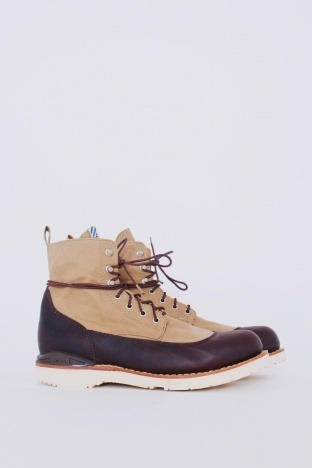 Veritus Boot Folk Dark Brown / Beige.