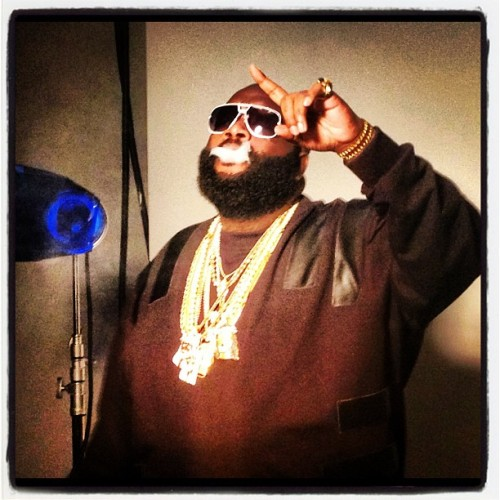 God Forgives but Rick Ross Does Not. He does, however, smoke a ton of weed!
