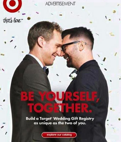 Target Debuts Wedding Registry Ad Starring Gay Couple