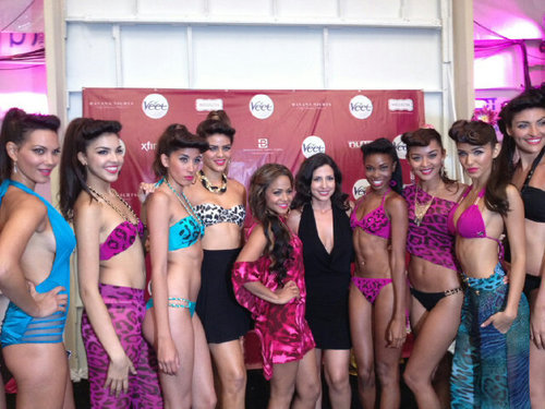 Christina Milian and Nicole Di Ricco Havana Nights Swimsuit Collection 2012