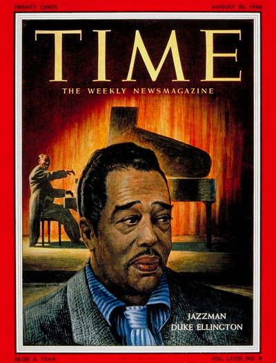 Swingin' through the Ages 47 years ago today jazz legend Duke Ellington made his New York Philharmonic conducting debut, as part of the Orchestra's French-American Festival. For this special occasion, he led several of his own works, including New World a'Coming and Golden Broom, and narrated Copland's Preamble for a Solemn Occasion. Jazz still plays a significant role at the  Philharmonic. Next May Ellington's heir, the eminent Wynton Marsalis, reprises his Swing Symphony (Symphony No. 3) with his Jazz at Lincoln Center Orchestra, the Philharmonic, and Alan Gilbert — the forces that gave its U.S. Premiere in September 2010.