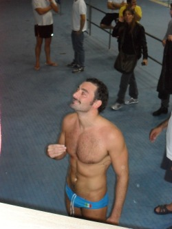 Olympic tHIMspiration: Maurizio Felugo. Italian water polo player.