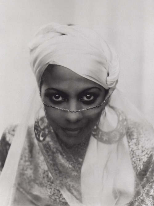 "vintageblackglamour:  Princess Kouka of Sudan, Paul Robeson's co-star in the film ""Jericho,"" photographed by Frank Shaw in 1937."