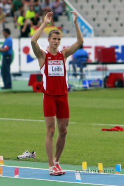 Olympic tHIMspiration: Jānis Leitis. Latvian athlete.