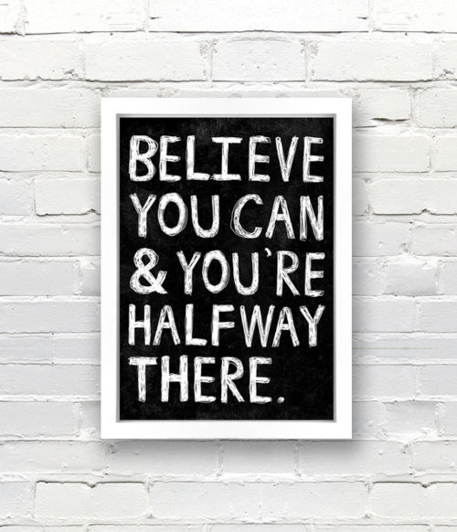 smilesandsweetthings:  Believe!!! 🎇