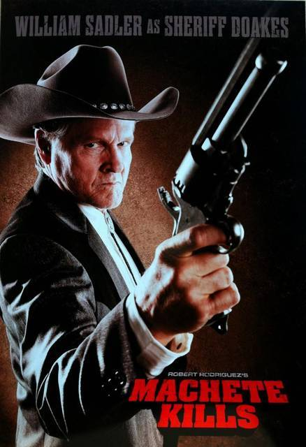 William Sadler in questo nuovo poster di Machete Kills (via William Sadler in questo nuovo poster di Machete Kills | Il blog di ScreenWeek.it)