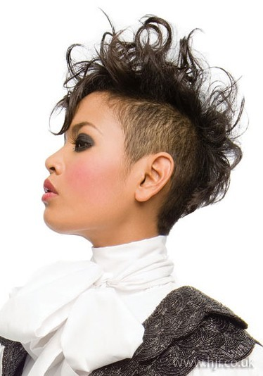 Mohawk Hairstyles for Black Women; Different Mohawk Styles - Black ...