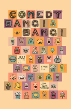 seminaldesigner:  Comedy Bang Bang LIVE! TONIGHT