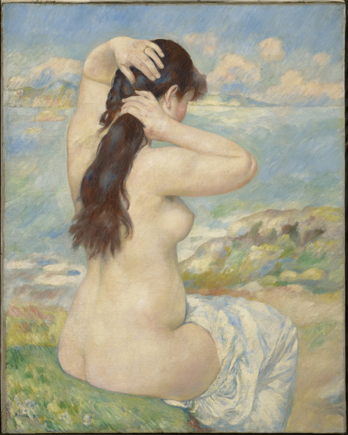 Pierre-Auguste RenoirBather Arranging Her Hair, 1885Oil on canvas© Sterling and Francine Clark Art Institute, Williamstown, MA1955.589