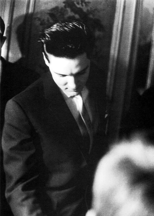 theniftyfifties:  Elvis Presley in Paris, June 1959.
