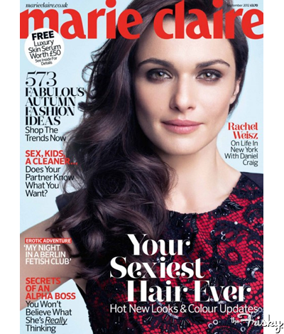 Beauty Cues: Get Mrs. Daniel Craig's Look On The Cover Of Marie Claire UK