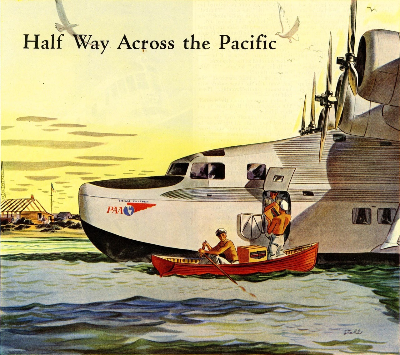 Illustration from an advertisement, 1938