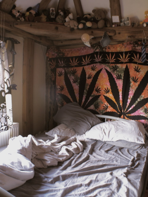 marijuananirvana:  heyyyy my old roommate has that tapestry!