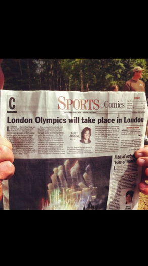 London Olympics Take Place in London In other news, summer Olympics to occur in the summer.