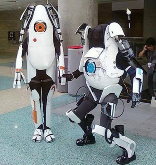 samaralex:  Atlas and P-Body Cosplay