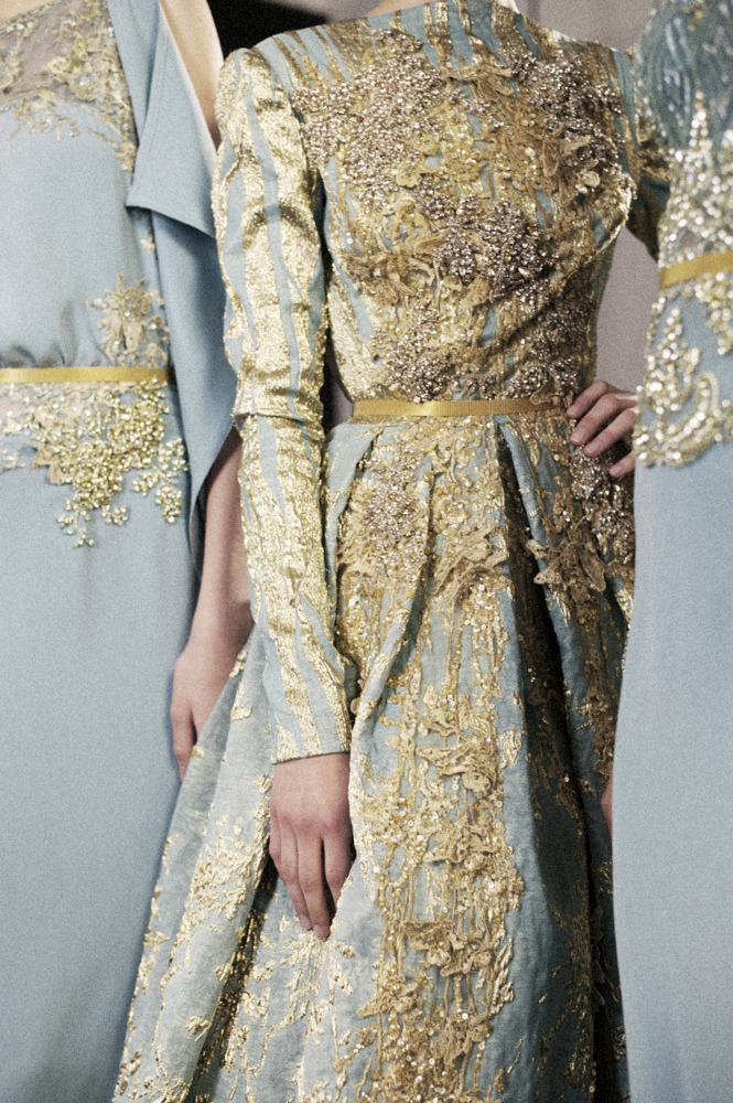 Elie Saab Haute Couture Fall '12 by Kasia Bobula