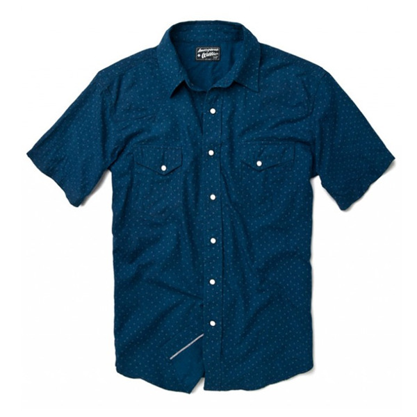free-man:  Leo Three Dot Short Sleeve