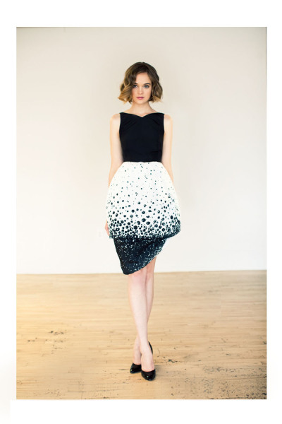 glamour:  Katie Ermilio's fall/winter 2012 collection is perfect for the modern day Audrey Hepburn.