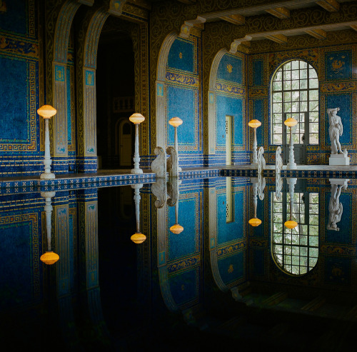 halfadams:  roman pool . hearst castle . 2012