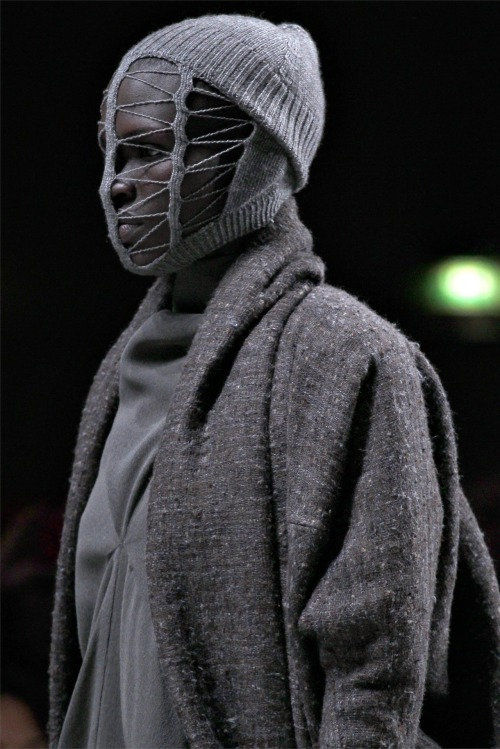 Rick Owens fall 2012 'MOUNTAINS'