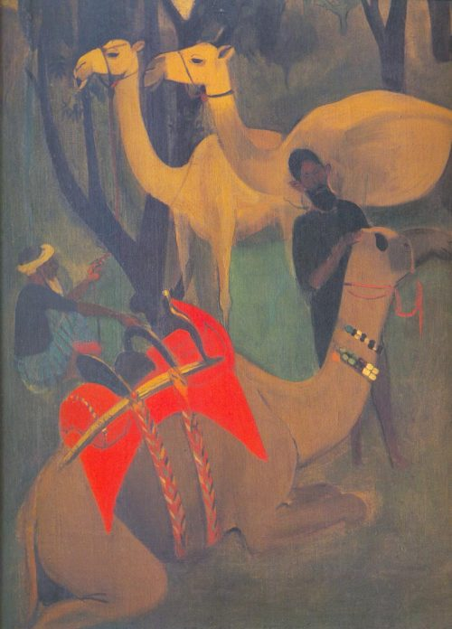 theeducatedfieldnegro:   Camels   National Gallery of Modern Art, New Delhi