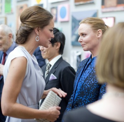 worldofwindsor:  Kate and Stella McCartney