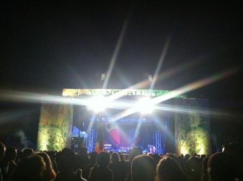 Ziggy Marley performing at Wanderlust