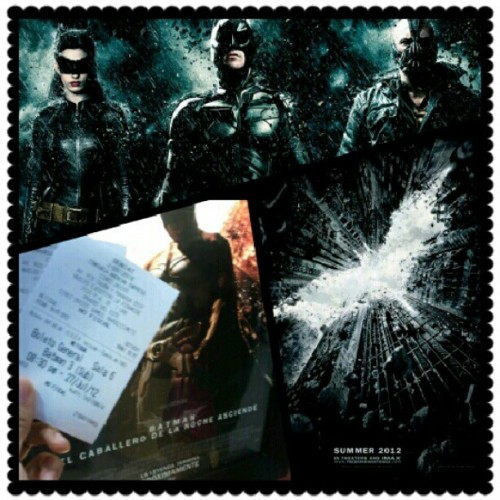 Best movie of the year #Instagrid #Batman #TheDarkKnightRises (Tomada con Instagram)