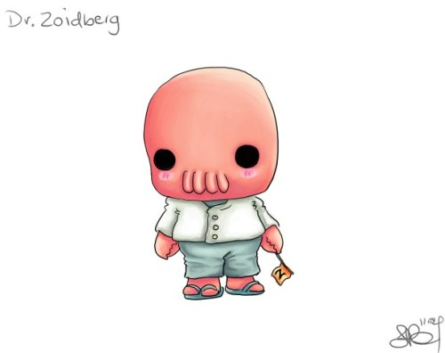 comedycentral:  Chibi Dr. Zoidberg by ~capsicum on deviantART In need of something awwwww?