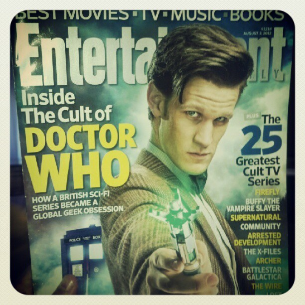 #DoctorWho #EntertainmentWeekly (Taken with Instagram)