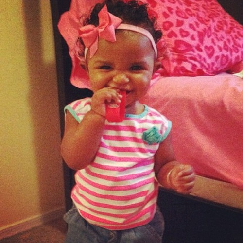 My Stink!💘 Stole this from her mother who forgot to send me this pic! @lyss0428  (Taken with Instagram)