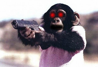 I AM JEW! Must kill… Must torture… Must enslave… Devil Monkey need BLOOD!