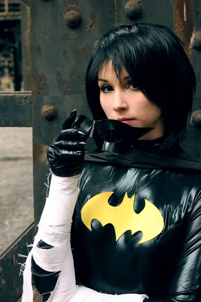 LucilleSmiles as Black Bat