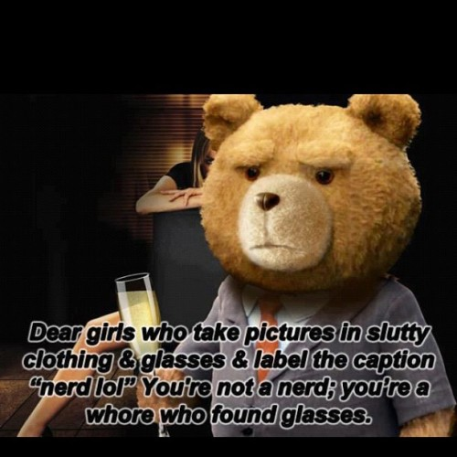 Funniest thing I've seen in a while =] #RippedIt #Ted #FunnyShit #lol #HeGotJokes  (Taken with Instagram)